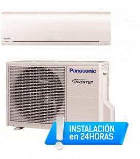 Aire Acondicionado Panasonic Inverter Split  KIT-PE9-RKE  (A+, A, 156 kWh, 700 kWh, 2,5 kW, 1,9 kW)