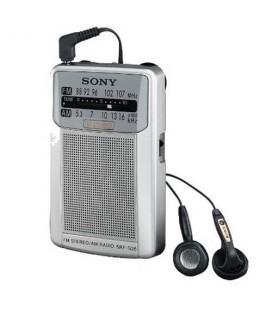 Radio Sony SRF-S26 |Portátil, color plata