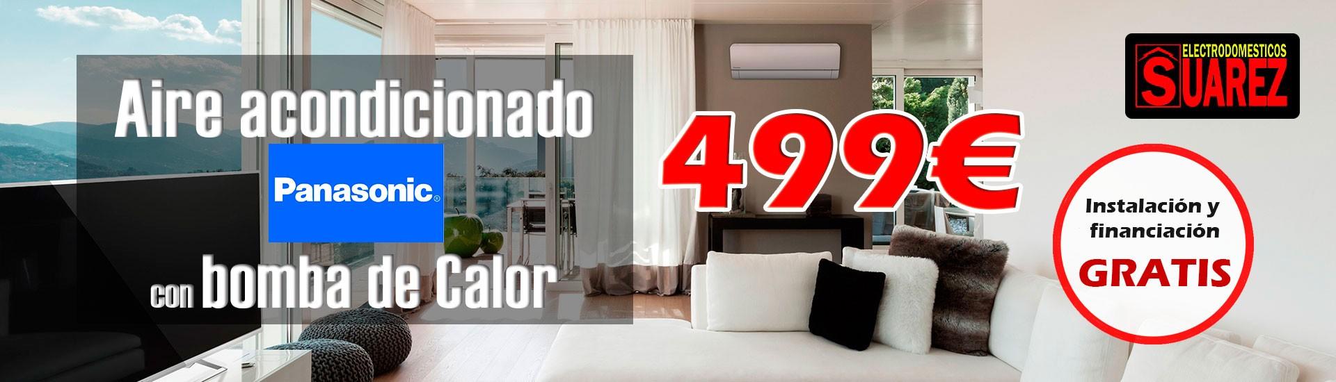 Oferta Aire Acondicionado Panasonic
